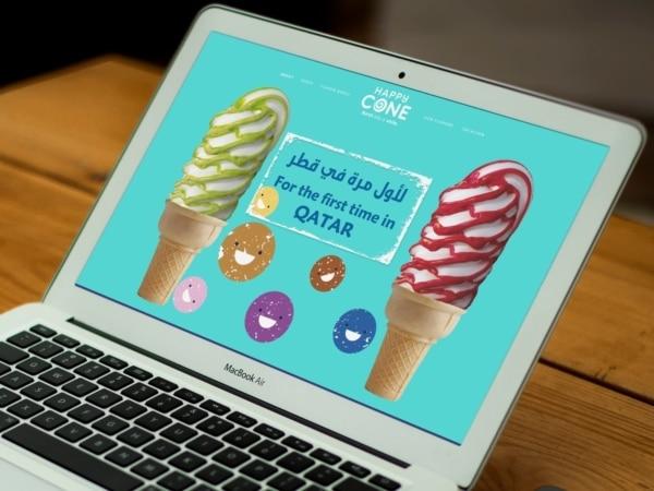 HappyCone Website