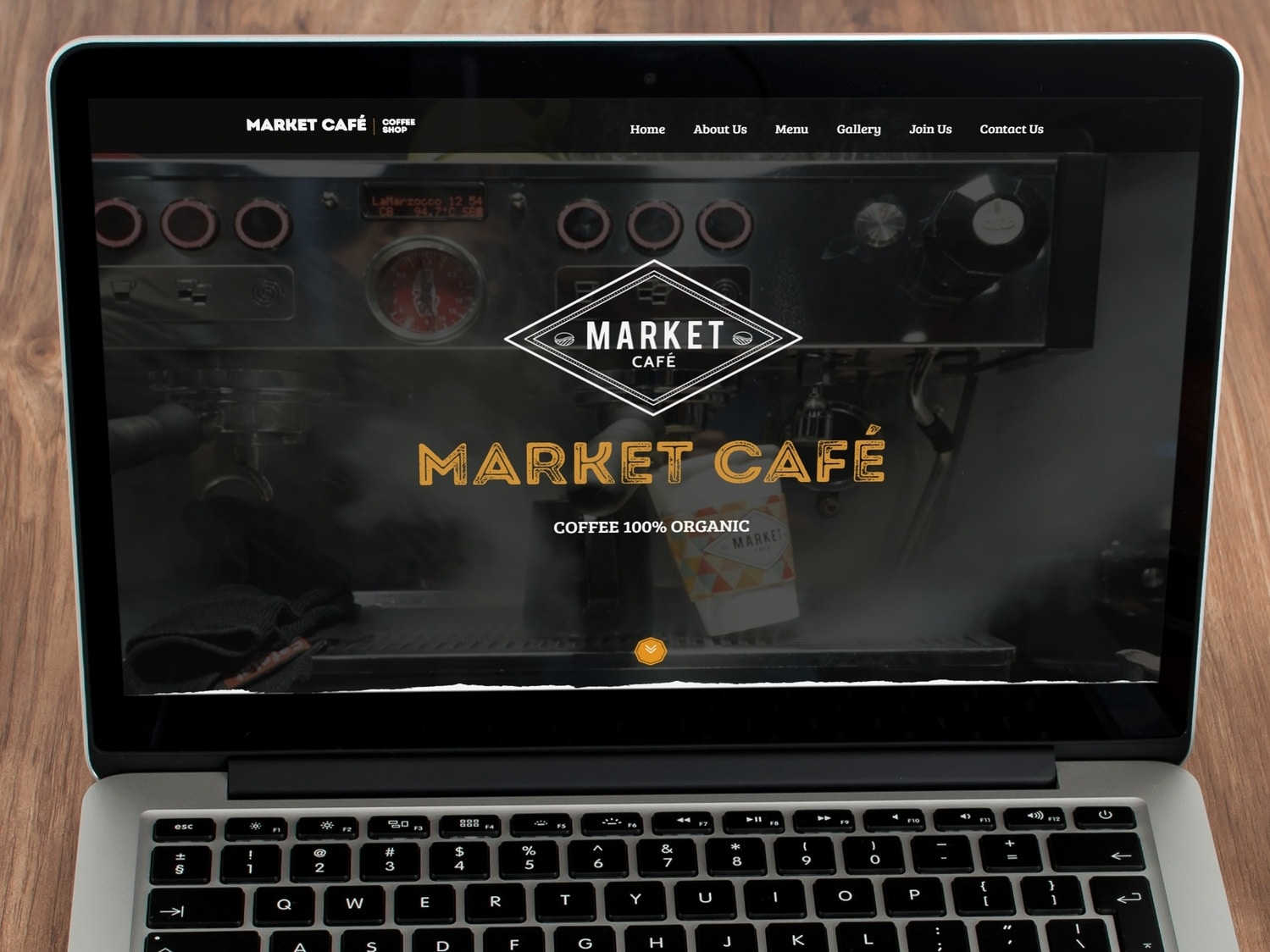 MarketCafe Website