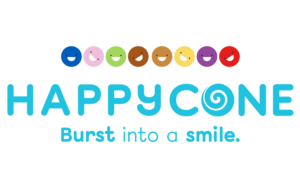 Happy Cone Icecream Logo