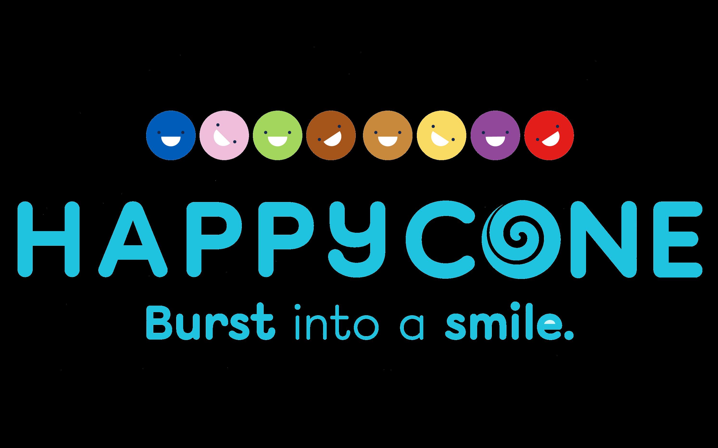 Happy Cone Icecream Logo